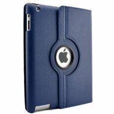 Cool case เคสไอแพด iPad 2 3 4 Case 360-Style - Dark blue