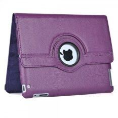 Cool case เคสไอแพด iPad 2 3 4 Case 360 Style -Purple