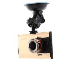 Coolpow Car Camera กล้องติดรถยนต์ Menu Eng/Thai รุ่น A8 (สีทอง)