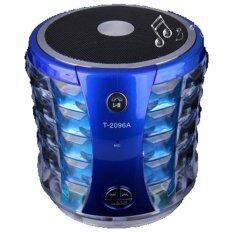 Coolpow รุ่น T-2096A Speaker Bluetoothสปีกเกอร์โฟนไร้สาย สีฟ้า
