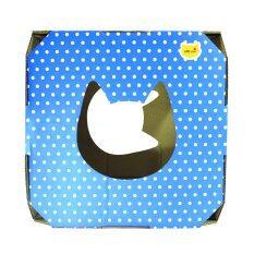 โปรโมชั่น Cpd Ideasบ้านแมวCat S Magical Box Blue Orange Polka Dot กรุงเทพมหานคร