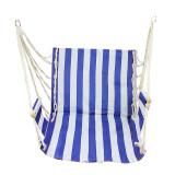 ราคา Creative Home Decor Indoor Outdoor Garden Hanging Rope Swing Hammock Chair Blue Stripe เป็นต้นฉบับ Unbranded Generic