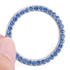 ขาย ซื้อ Crystal Car Engine Start Stop Ignition Key Ring For Nissan Tiida Teana Titan Versa Nota X Trail Qashqai Altima Armada Juke Leaf Blue จีน