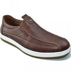 โปรโมชั่น Csb รองเท้าหนังผู้ชาย Csb รุ่น Cm333 สีน้ำตาล Csb