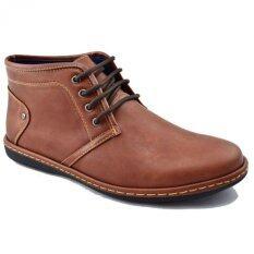 ราคา Csb รองเท้าหนังผู้ชาย หุ้มข้อ Csb รุ่น Cm957 สีน้ำตาล Csb เป็นต้นฉบับ