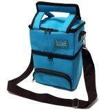 ราคา Cubezz กระเป๋าเก็บความเย็น 2 ชั้น Tiffin สีฟ้า ใหม่ ถูก