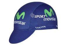 ราคา Cycling Jersey หมวกแก๊ปจักรยาน Movistar กันเหงื่อ กันแดด ผ้าระบายอากาศดี ใหม่ล่าสุด