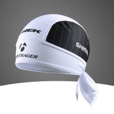 ราคา ราคาถูกที่สุด Cycling Jersey หมวกโพกศรีษะ ขี่จักรยาน Trek กันเหงื่อ กันแดด ผ้าระบายกาศดี