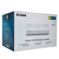 ซื้อ D Link 8 Port Gigabit Switch 10 100 1000 Dgs 1008A White ใน กรุงเทพมหานคร