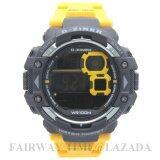 ราคา D Ziner นาฬิกาข้อมือแนว Sport ชาย ระบบ Digital สายยาง กันนํ้า 100 รุ่น Dz781 002 ออนไลน์ ไทย