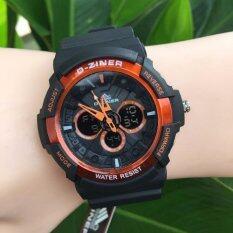 ราคา D Ziner นาฬิกาข้อมือชาย รุ่น Dz8019 สีส้ม