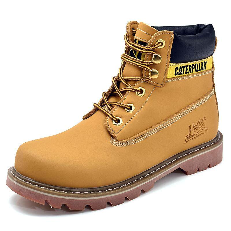 รองเท้าบูทแฟชั่นฤดูใบไม้ร่วงและฤดูหนาวสำหรับผู้ชายและผู้หญิง, รองเท้าบูทคู่รักที่อบอุ่น, รองเท้าบูทขนาดใหญ่ By Asia Supermarket.