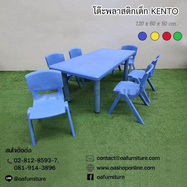 ชุดโต๊ะเก้าอี้พลาสติกเด็ก Kento By Oa Furniture.