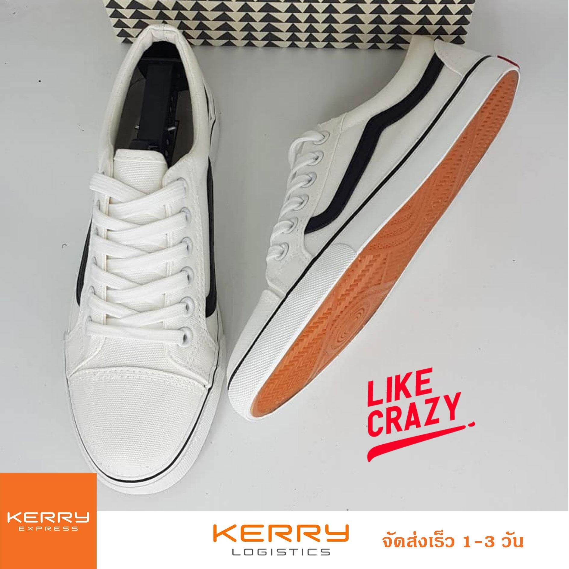 Like-Crazy รองเท้าผ้าใบผู้ชาย ทรงยอดนิยม จังหวะนี้คือที่สุดของความ STREET!!!!