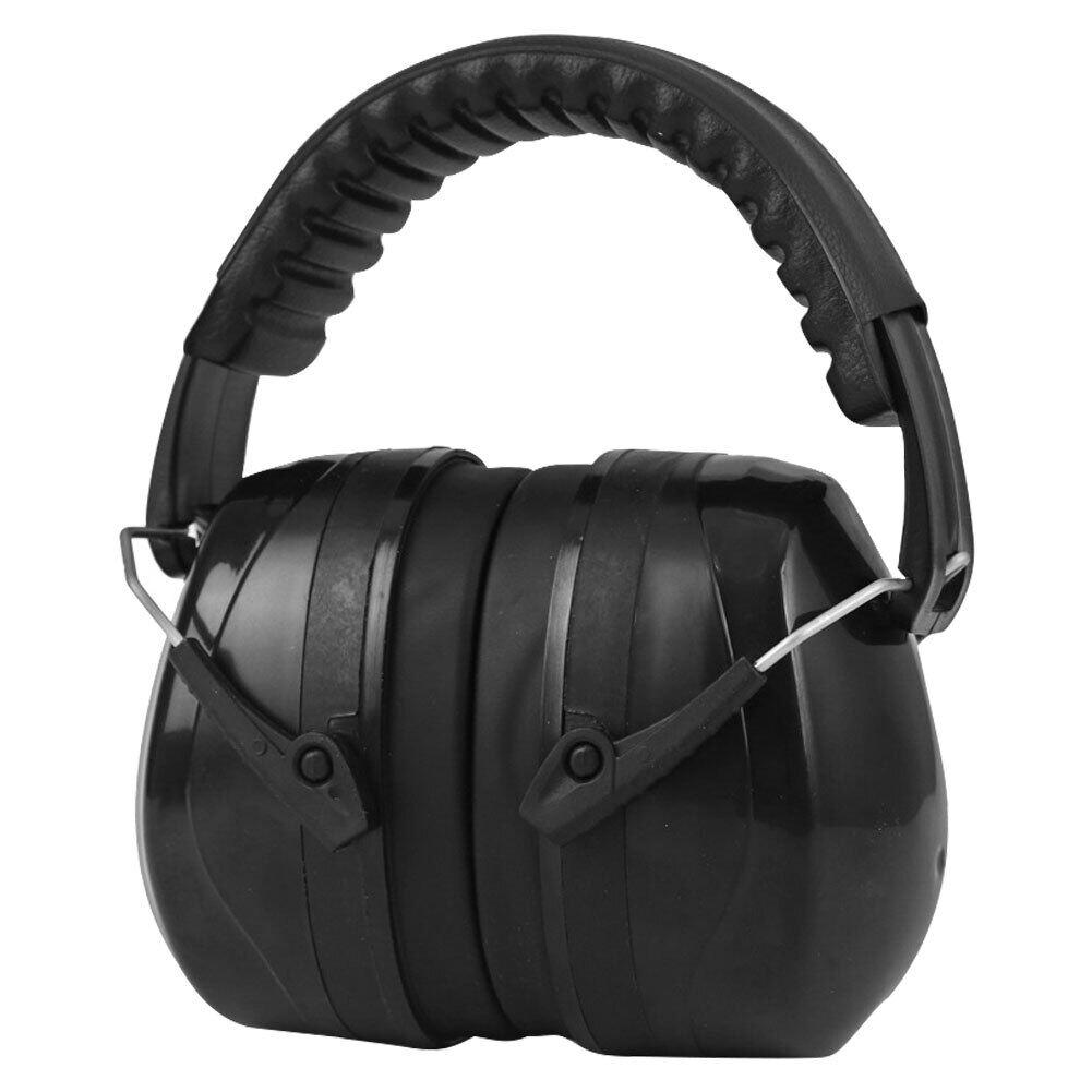ครอบหูกันเสียง รุ่น SNR 35dB Economy Earmuff ที่ครอบหูกันเสียง ครอบหูลดเสียง ที่อุดหู หูฟังครอบหู (สีดำ)