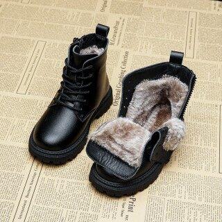 Bé Gái Dr. Martens 2020 Năm Mẫu Mới Mịn Hơn Giày Trẻ Em Giày Cotton Tuyết Và Mùa Đông Bốt Trẻ Em Bốt Ngắn Trai Khởi Động thumbnail