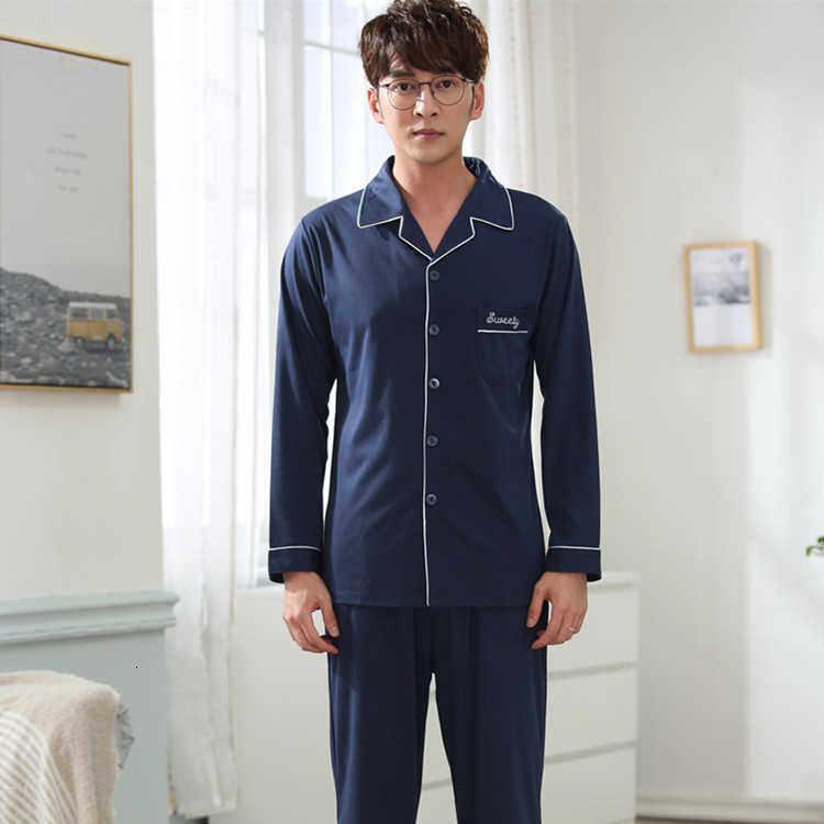 ฤดูกาลที่มีการถักไหมพรมผ้าฝ้ายผู้ชายชุดนอนบ้านตกแต่งเสื้อผ้า