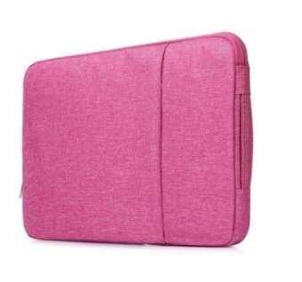 กระเป๋าแล็ปท็อป Laptop Denim Fabric Laptop Sleeve Bag Case Cover For MacBook Air Pro Dell HP ASUS 15นิ้ว Inch-