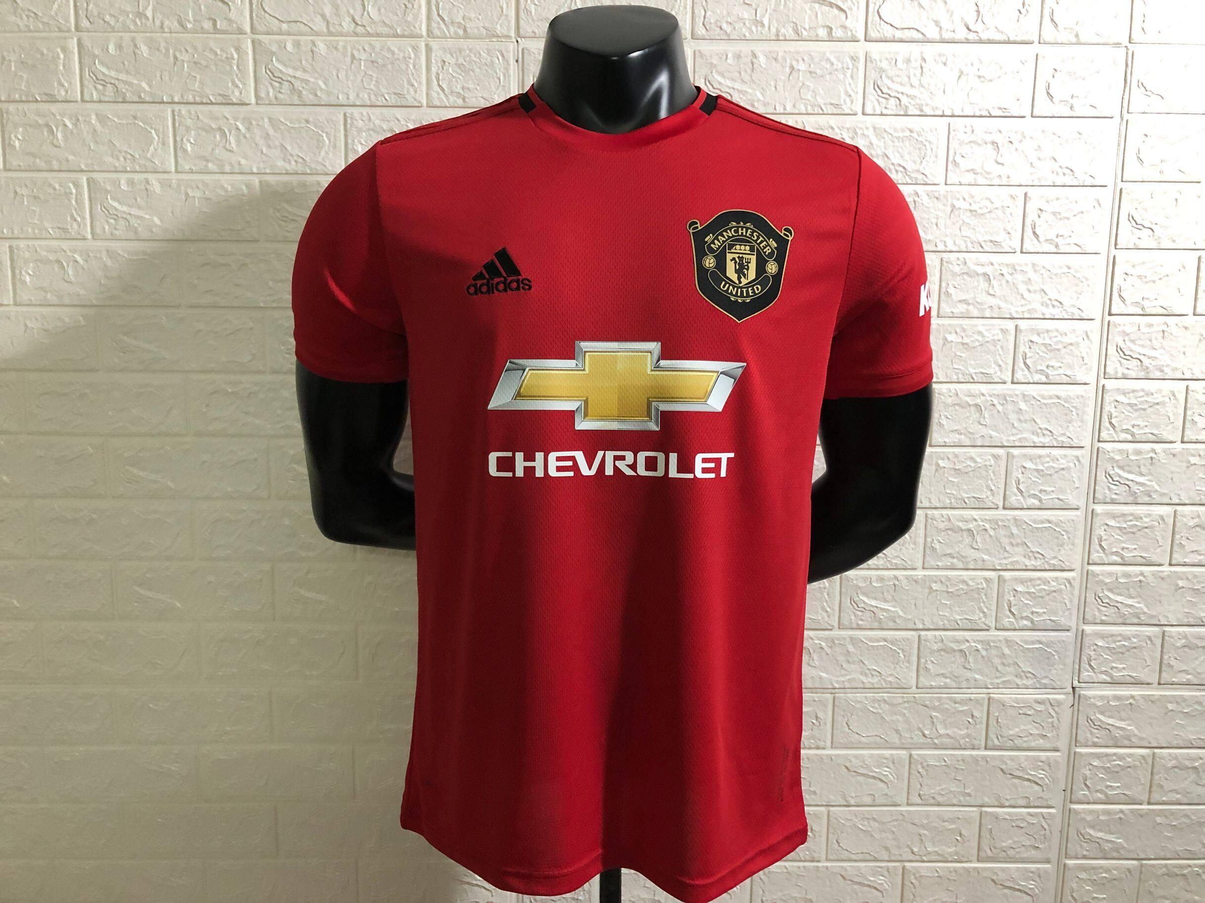 คุณภาพสูง 19/20 and 18/19 Manchester United แมนเชสเตอร์ยูไนเต็ด เสื้อฟุตบอล เกรด เสื้อฟุตบอล เกรด AAA