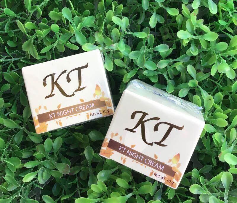 ( 2ชิ้น) ไนท์ครีมKT (NIGHT CREAM KT) รับประกันของแท้100% ส่งเคอรี่ ktcream creamkt ครีมkt ktครีม ครีมเคที เคทีครีม เคที KT ครีมกลางคืนKT by ครีมกระต่ายขาว ครีมรักษาสิว ครีมรักษาฝ้า ครีมหน้าขาวใส รักษา สิว ฝ้า กระ จุดด่างดำ หน้าหมองคล้ำ กระชับรูขุมขน KT