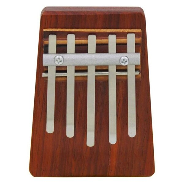 5-Key Kalimba Mbira Children Mini Guitar Thumb Piano Traditional Musical Instrument Perfect Gift for Kids