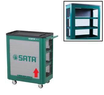 SATA ตู้เครื่องมือเคลื่อนที่ รุ่น 3 ชั้น พร้อมตะแกรงข้าง 94695111