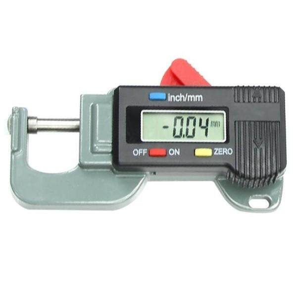 Portable Precise Digital Thickness Gauge Meter Metal Tester Micrometer 0 to 12.7mm