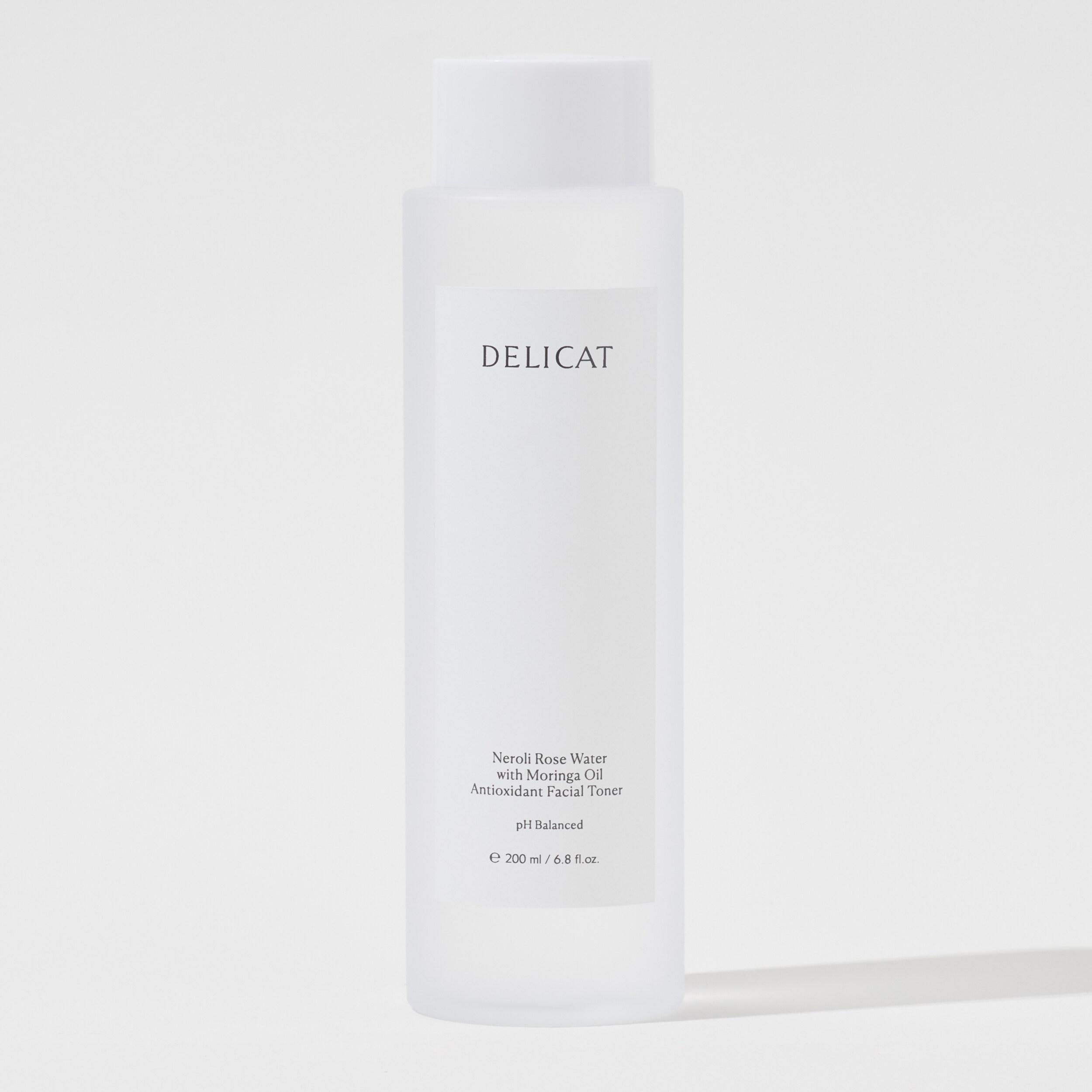 Delicat Neroli Rose Water With Moringa Oil Antioxidant Facial Toner.