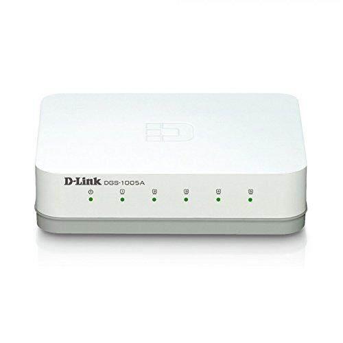D-Link Switch Hub สวิตซ์ฮับ 5 Ports Dgs-1005a Gigabit Port.