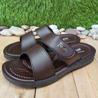รองเท้าแตะแบบสวมผู้ชาย  รองเท้าแตะแบบสวมชาย  รองเท้าลำลองผู้ชาย  รองเท้าแตะหนังผู้ชาย  รองเท้าแตะผู้ชายแบบสวม  รองเท้าแฟชั่นผู้ชาย  รองเท้าแตะkitoราคา , 1211-