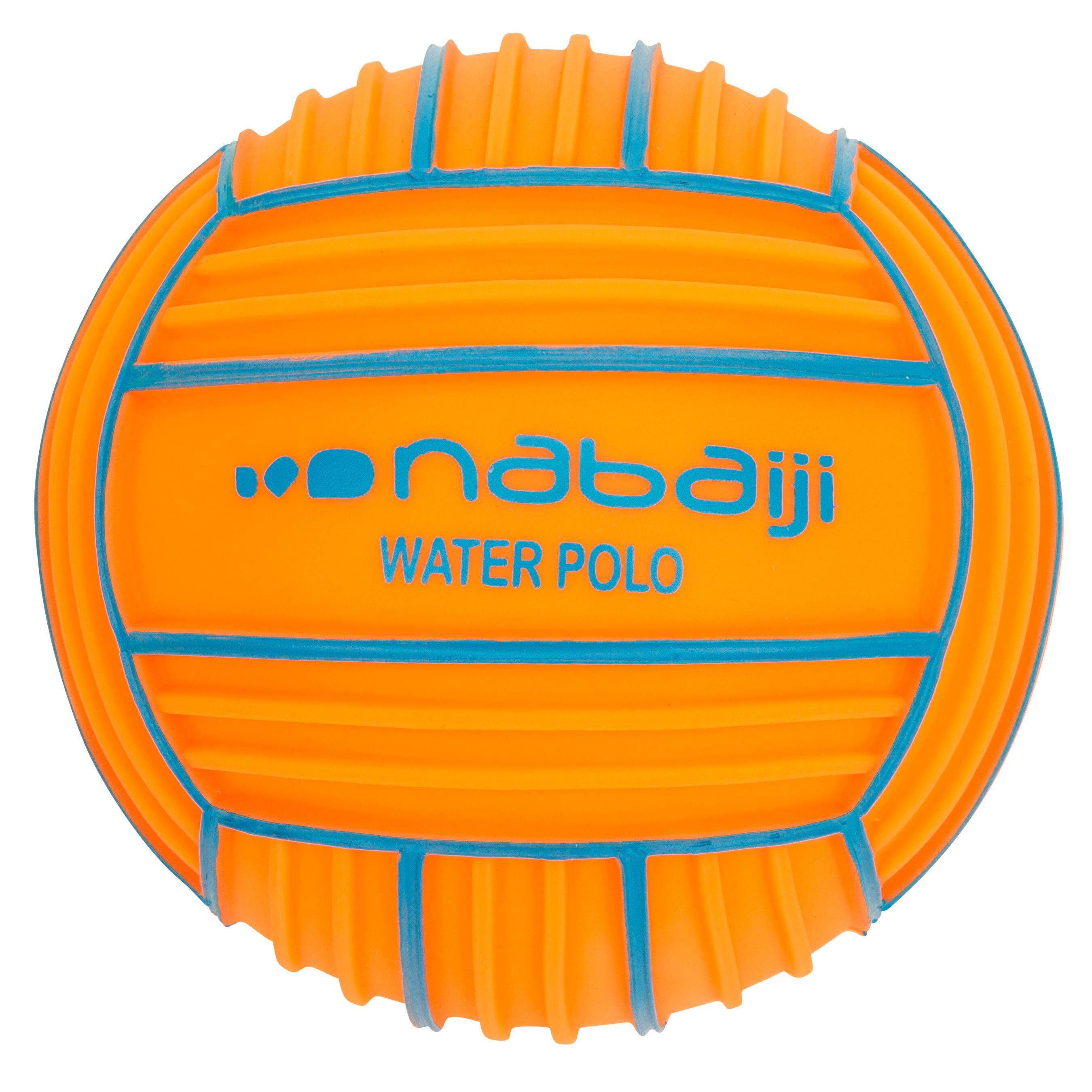 [ด่วน!! โปรโมชั่นมีจำนวนจำกัด]ลูกบอลกระชับมือขนาดเล็กสำหรับเล่นในสระว่ายน้ำ (สีส้ม)