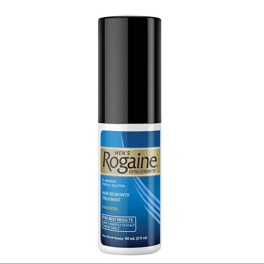 Rogaine น้ำยาปลูกผมสำหรับผู้ชาย Rogaine Lotion 5% ไมนอกซิดิล   (ชุดแบ่งขาย 1 เดือน ไม่มีกล่อง) Usa แท้.