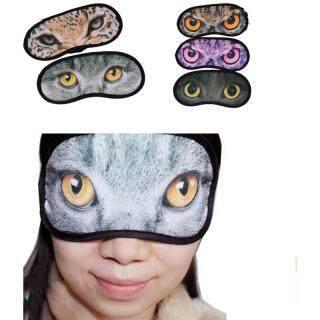 Da Thời Gian 1 Chiếc Mặt Nạ Mắt, Mặt Nạ Mắt Ngủ Du Lịch, Trợ Giúp Giấc Ngủ Bìa Mặt Nạ Mắt Bịt Mắt Mèo thumbnail