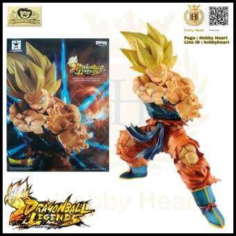 Model Figure Dragon Ball Dragon ball Gokou Super Saiyan โมเดล ฟิกเกอร์ ซุน โกคู ซุปเปอร์ไซย่า Banpresto-