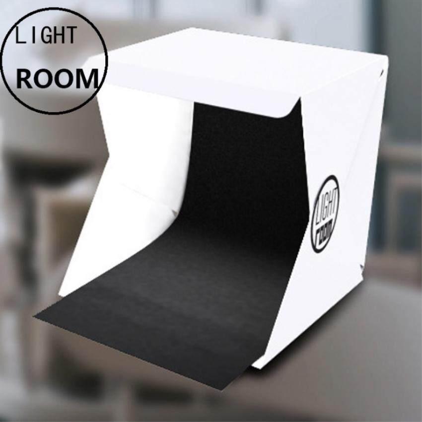 Momo สตูดิโอถ่ายภาพ กล่องถ่ายภาพ แบบพกพา Light Room Lightroom Photo Studio 9 (24 Cm.) Photography Lighting Tent Kit Mini Cube Box.