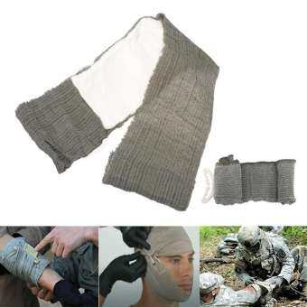 elastic Israeli wrap Compress army trauma dressing battle combat bandage emergent urgent gauze rescue first aid medic wound care Sterile one hand outdoor tactical military combat survive
