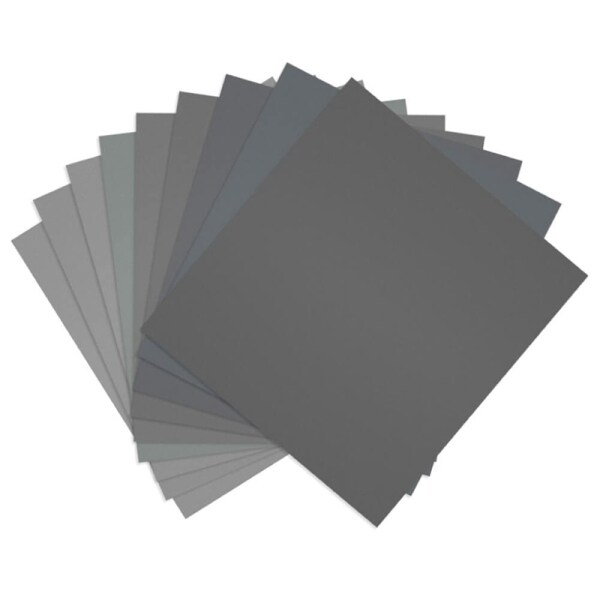 18 Pcs 9x11 Inch High Grit Wet And Dry Sandpaper Assortment 400 600 800 1000 1500 2000 3000 5000 7000 Sanding Paper Sheets For Car
