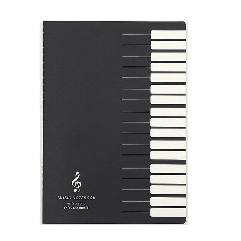 Mã Khuyến Mãi tại Lazada cho Five Lines Music Notes Notebook Music Tab Staff Stave Notebook