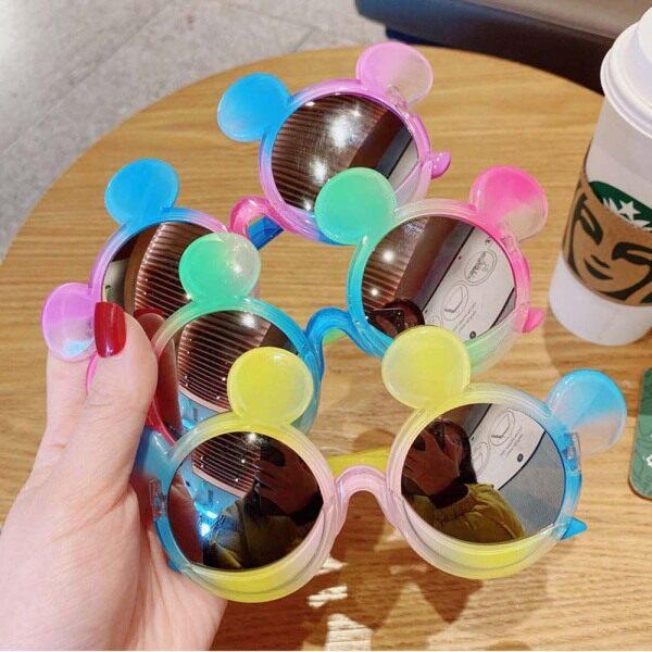 Giá bán LIAOBIX Đáng Yêu Đầy Màu Sắc Bờ Biển Mùa Hè Hoa Trẻ Mới Biết Đi UV400 , Goggle Kính Mắt Ngoài Trời Khung Tròn Kính Râm Cho Bé