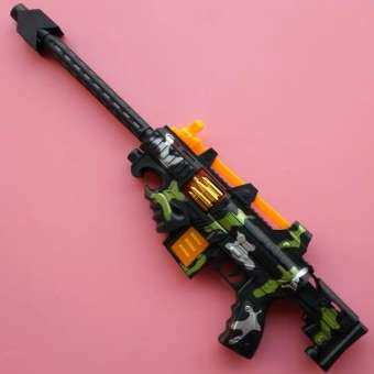 ของเล่นเด็ก ปืนกลเล็กใส่ถ่าน มีเสียง มีไฟ NO.Q03-