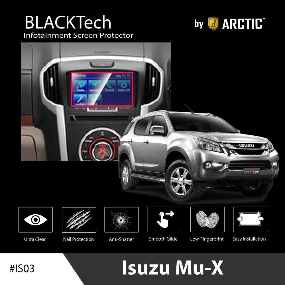 ฟิล์มกันรอยหน้าจอรถยนต์ Isuzu Mu-X จอขนาด 7.9 นิ้ว - Blacktech By Arctic (สำหรับ Mu-X เท่านั้น).