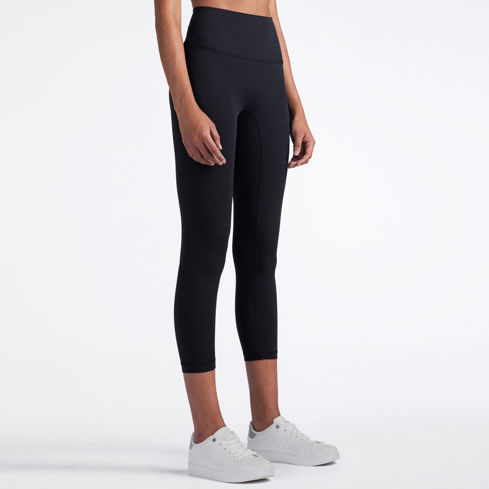 2020 Mno.9 Capri Pants Legging qk1242 กางเกงออกกำลังกาย กางเกงฟิดเนส กางเกงโยคะ กางเกงเลคกิ้ง ขา4 ส่วน กระชับหน้าท้อง.