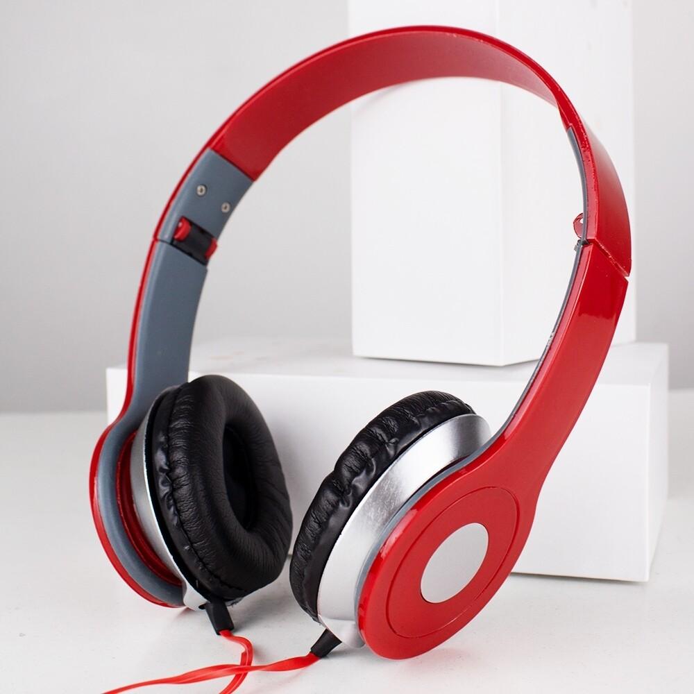 หูฟังครอบ �บบใช้สาย ไม่ใช่บลูทูธ หูฟังครอบหัว เฮดโฟน Audio - Professional Bass Stereo Headphones ของ�ท้ สามารถพับเ�็บได้