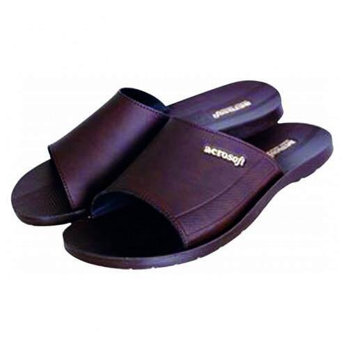 รองเท้าแตะบุรุษ แอโร่ซอฟท์ รุ่น P2808 ไซส์ 43 สีน้ำตาล