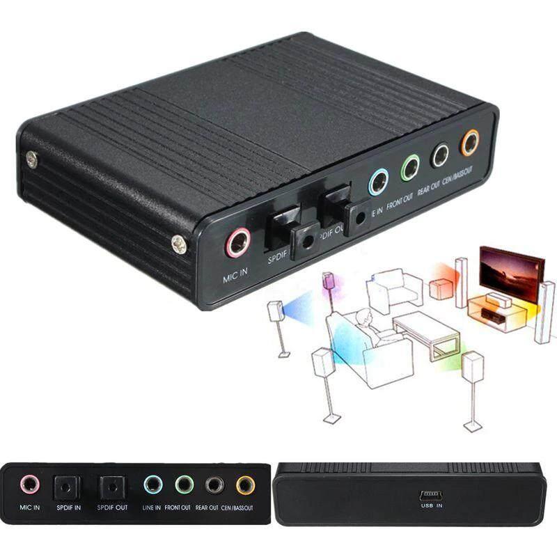 Usb Sound Card Digital Optical Audio 5.1 6ch.