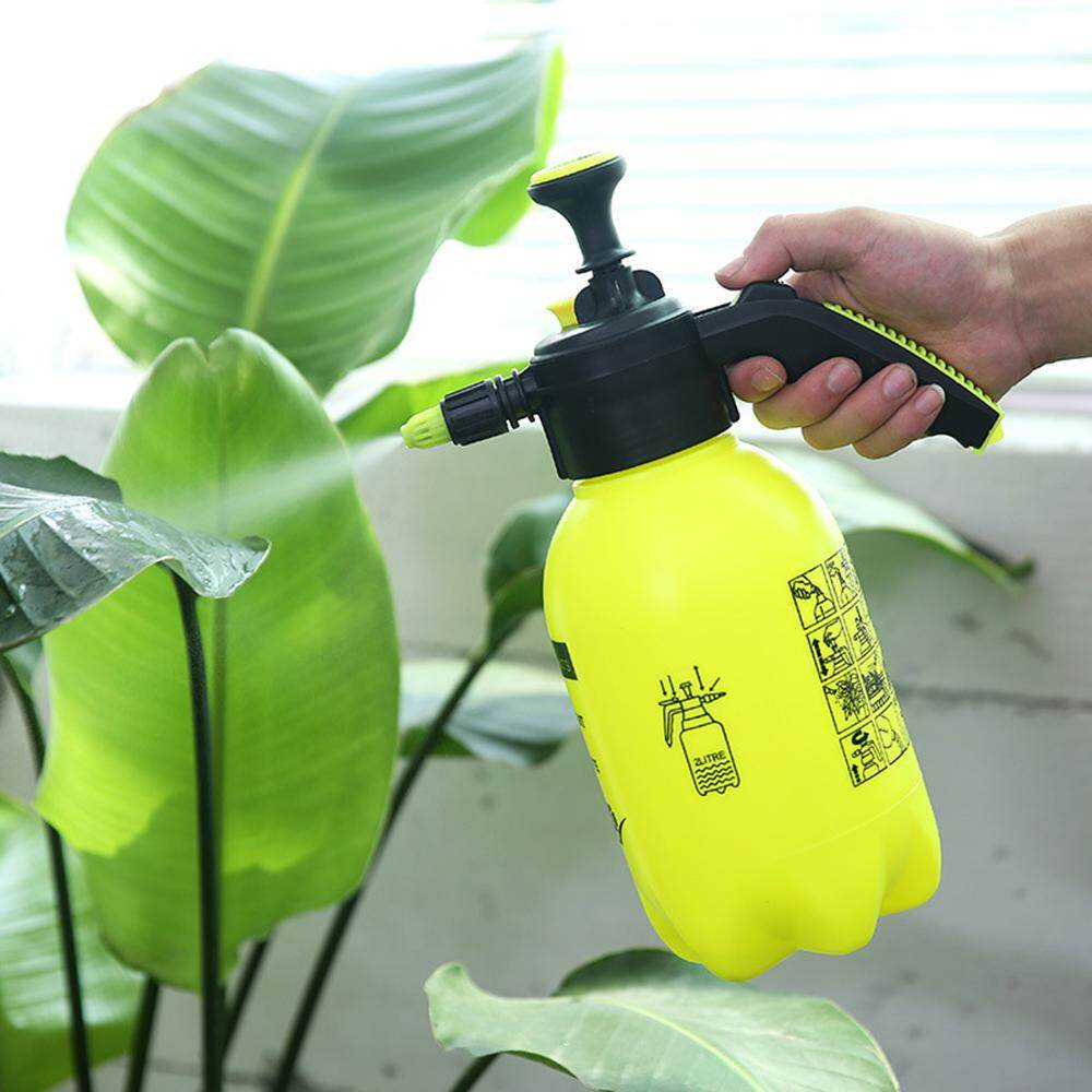XJING- 2L Flower Plant Watering Pressure Spray Kettle Gardening Supplies Portable Watering Can Pressurized Sprayer