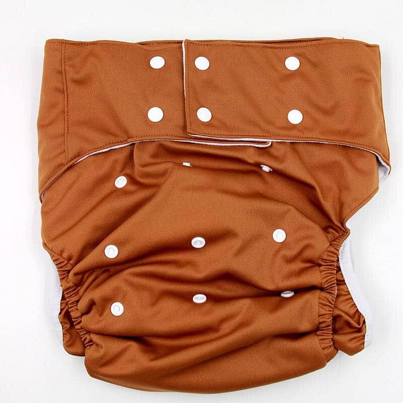 ซื้อที่ไหน กางเกงผ้าอ้อมซักได้ผู้ใหญ่ 25 -65 kgs + แผ่นซับฉี่แบมบูชาโคล 5 ชั้น
