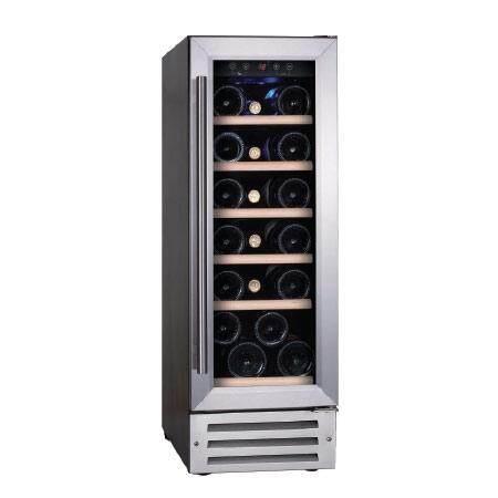 Temptech ตู้แช่ไวน์ รุ่น Classic Vwc300ss – สีเงิน บรรจุ 19 ขวด By Temptech.