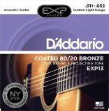 ขาย D Addario สายกีต้าร์โปร่งแบบเคลือบ Coated 80 20 Bronze Custom Light 11 52 รุ่น Exp13 D Addario ใน กรุงเทพมหานคร