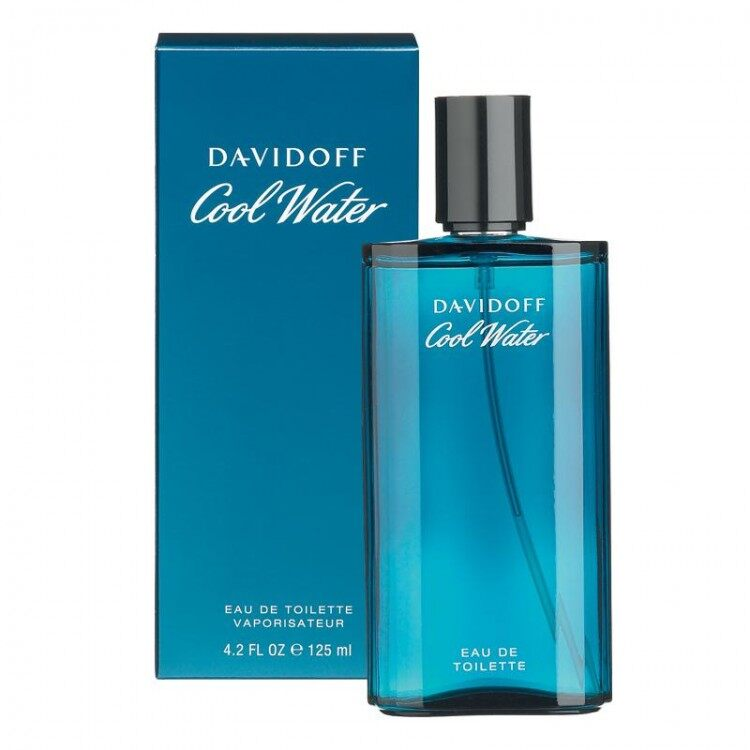 Davidoff Cool water for men EDT 125ml พร้อมกล่อง